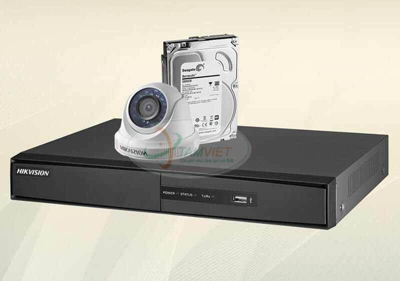 Bộ 01 Camera quan sát HIKVISION
