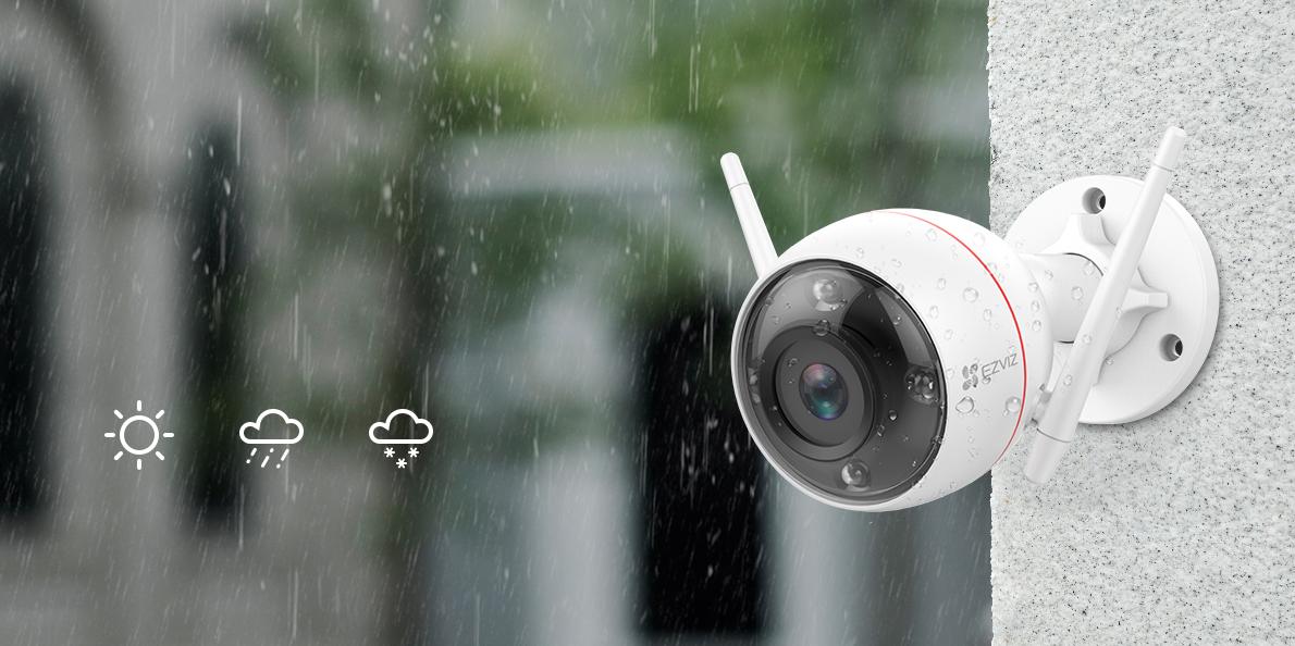 Camera ngoài trời chống nước và chống bụi