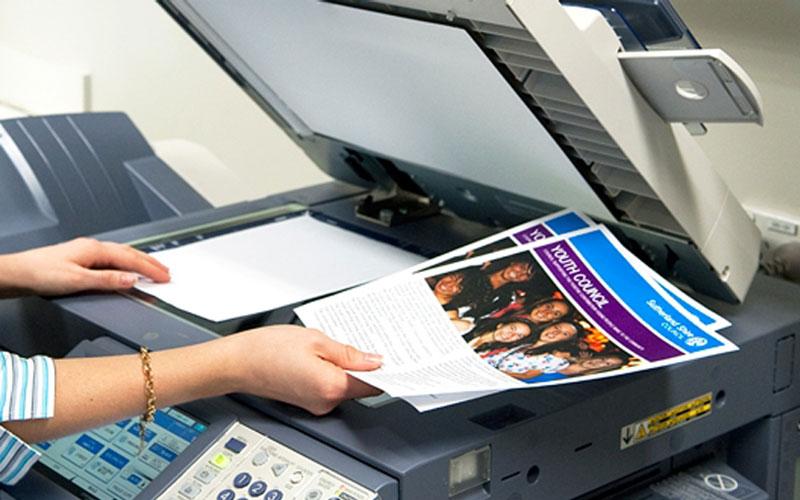 Cho thuê máy Photocopy màu tại Trà Vinh