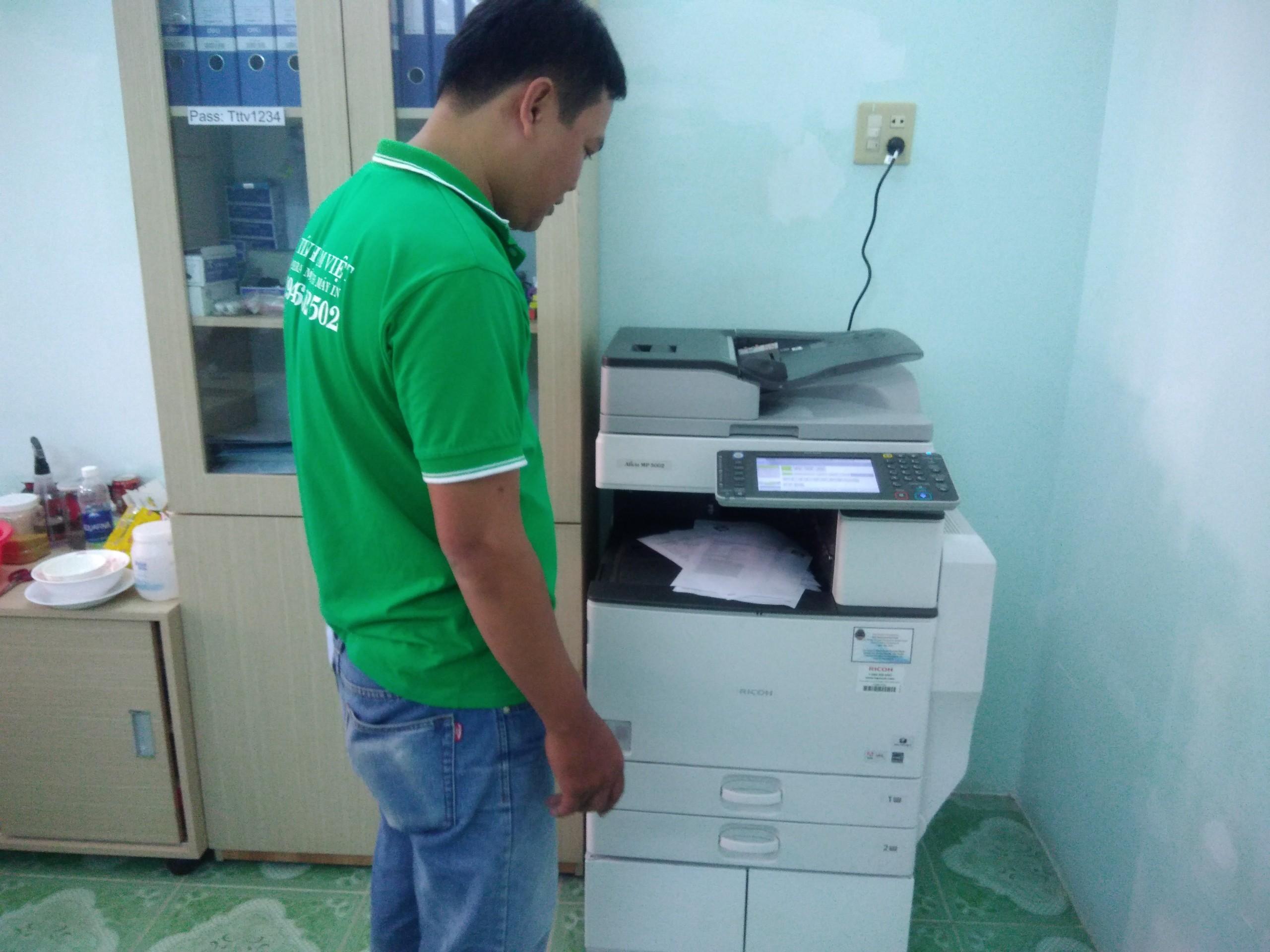 Dịch vụ sửa chữa máy Photo tại Trà Vinh